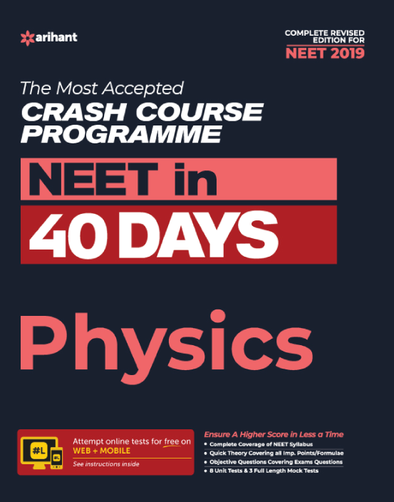 Link to book NEET in 40 Days - Physics