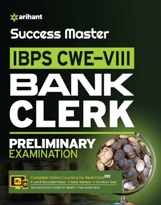 Link to book IBPS CWE-VIII Bank Clerk Pre. Exam English