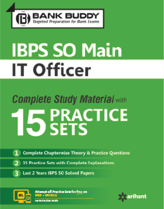 Link to book IBPS Bank SO Main (IT Officer)