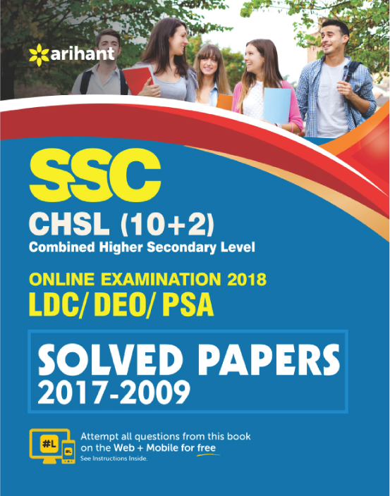 Link to book SSC CHSL Solved Papers (English)